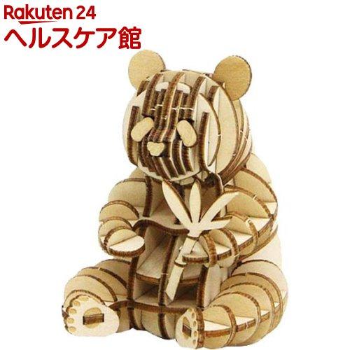 エーゾーン Wooden 完全送料無料 Art ki-gu-mi 1個 期間限定の激安セール KGM10837 ジャイアントパンダ