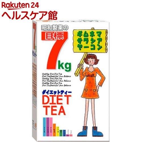 昭和製薬 目標 7KG 買収 more20 30包入 ダイエットティー 販売実績No.1