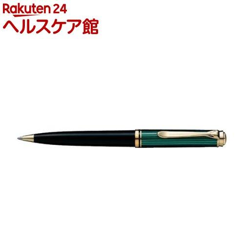 ペリカン ボールペン スーベレーン K800 緑縞(1本)