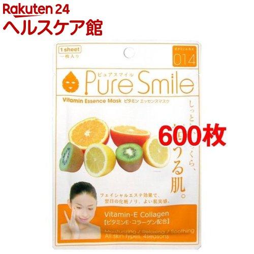 ピュアスマイル エッセンスマスク 014 ビタミン(600枚セット)【ピュアスマイル(Pure Smile)】