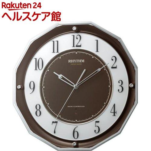 リズム スリーウエイブM846 茶メタリック 4MY846SR06(1台)