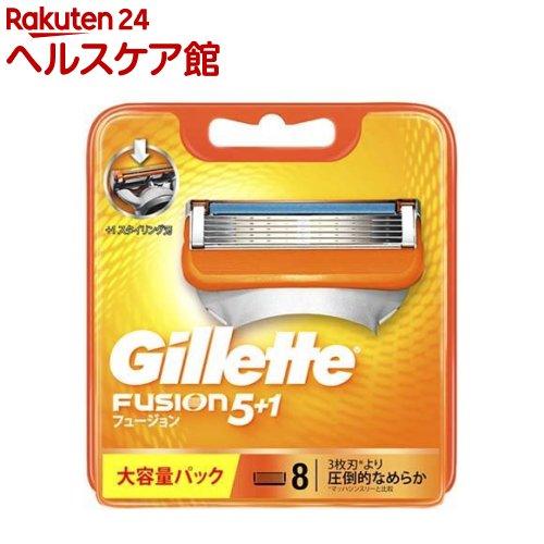 ジレット フュージョン5+1 替刃8B slide_f2 安全 8コ入 国産品