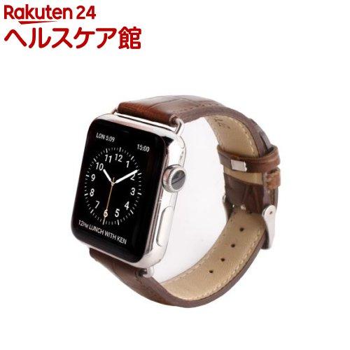ゲイズ AppLe Watch用バンド42mm ブラウンクロコ GZ0485AW(1コ入)【ゲイズ】【送料無料】