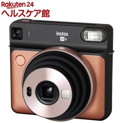 フジフイルム インスタントカメラ instax SQUARE SQ6 ブラッシュゴールド(1台)【フジフイルム】【送料無料】