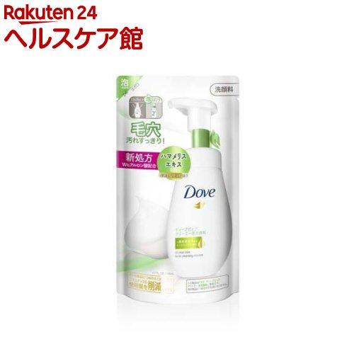 ダヴ Dove ディープピュアクリーミー泡洗顔料 国際ブランド セールSALE%OFF 詰替え用 more20 140ml