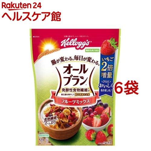 オールブラン / ケロッグ オールブラン フルーツミックス ケロッグ オールブラン フルーツミックス(420g*6袋セット)【オールブラン】