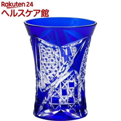 八千代切子 酒器 杯 矢絣柄 LS19758SULM-C688(95mL)【送料無料】