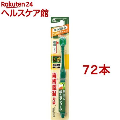 生葉 極幅ブラシコンパクト やわらかめ(72本セット)【生葉】