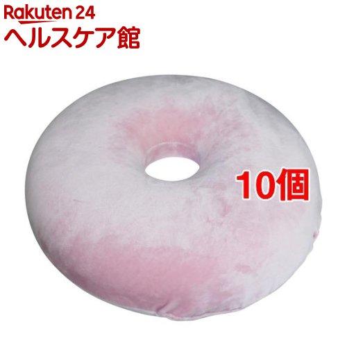 高弾力 円座クッション ピンク 約40Rcm(10個セット)