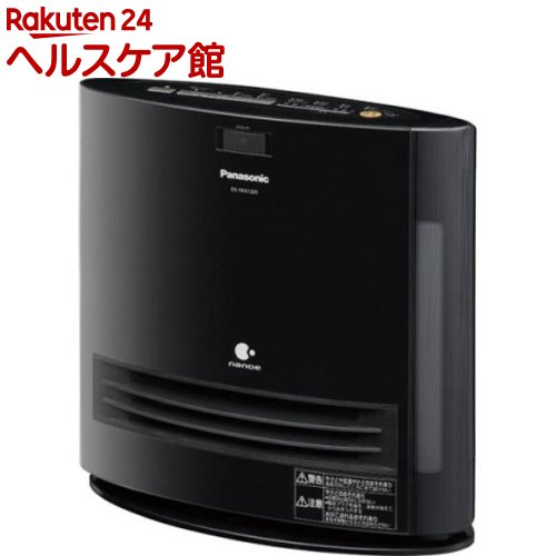 パナソニック 加湿機能付きセラミックファンヒーター DS-FKX1205-K ブラック(1台入)【パナソニック】【送料無料】