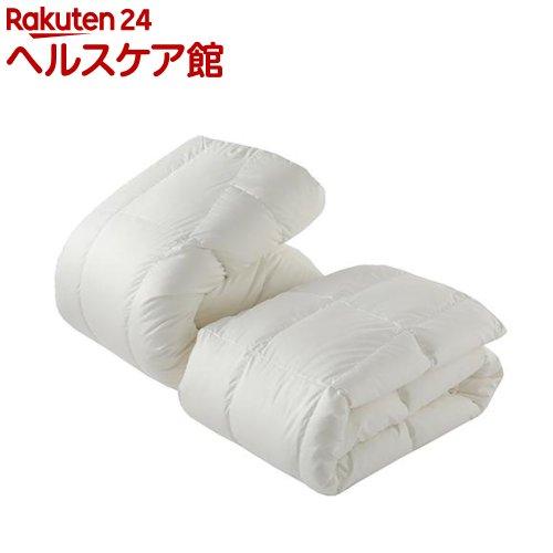 東京西川 デュエット羽毛布団 セミダブル ホワイト KA18197072W(2枚組)【東京西川】【送料無料】
