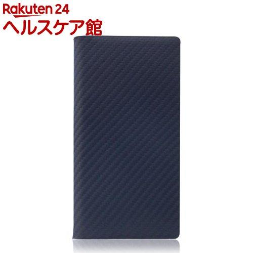 SLGデザイン iPhone7 カーボンレザーケース ネイビー SD8094i7(1コ入)【SLG Design(エスエルジーデザイン)】【送料無料】
