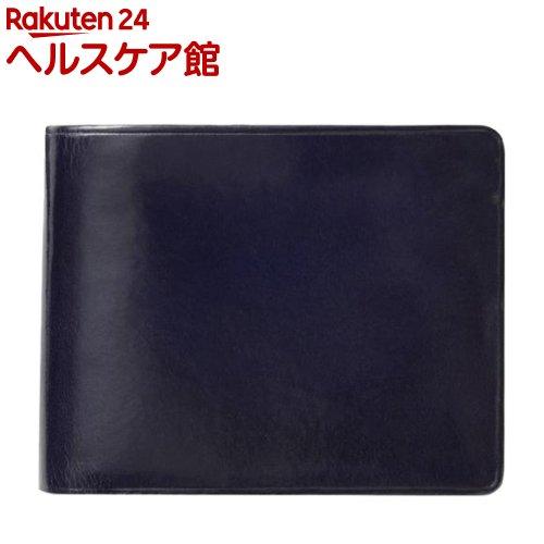 イル・ブセット 2つ折り財布(小銭入れ付) ネイビー(1コ入)【Il Bussetto(イル・ブセット)】