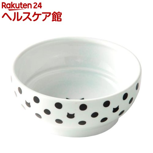 猫壱 ハッピーダイニング フードボウル 1コ入 超美品再入荷品質至上 蔵 水玉