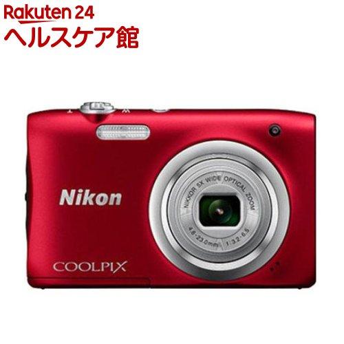 ニコン デジタルカメラ クールピクス A100 レッド(1台)【クールピクス(COOLPIX)】【送料無料】