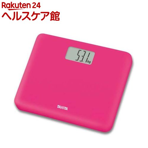 タニタ TANITA 新登場 デジタルヘルスメーター 永遠の定番モデル HD-660-PK ピンク 1台