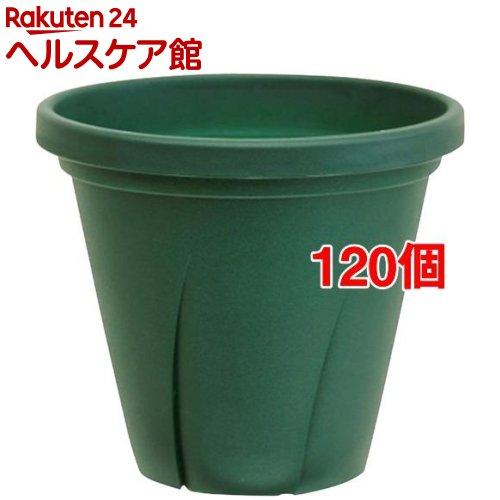 根はり鉢 5号 ダークグリーン(120個セット)【大和プラスチック】