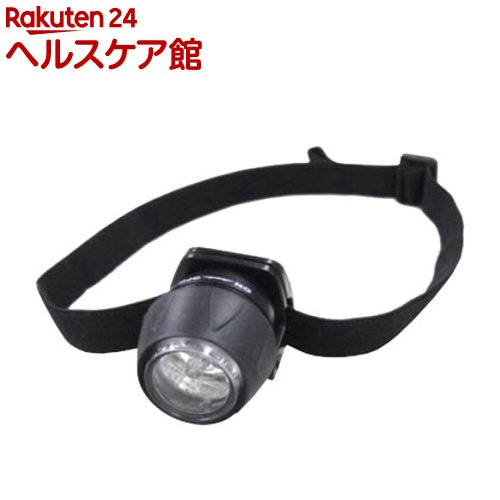 3LED ミニヘッドライトブラック LZ40BK(1コ入)