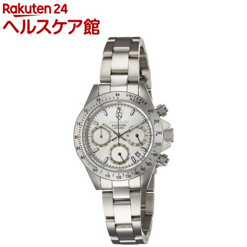 アンクラーク 腕時計 天然1Pダイヤ入りクロノグラフ AM1012VD-02(1本入)【送料無料】