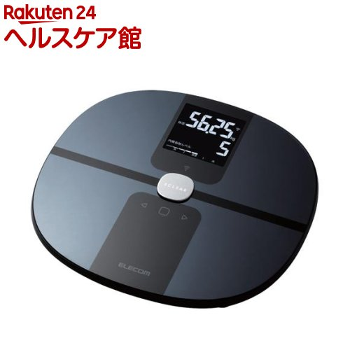 エレコム エクリア 体組成計 Wifi接続対応 ブラック(1台)【エレコム(ELECOM)】