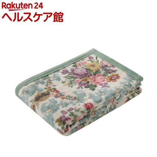 綿毛布 シングル サンダーソン 綿100% 日本製 ベージュ FQ08101009BE(1枚入)【東京西川】