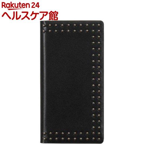 エブルイ iPhone XR ドットスタッズダイアリー ブラック EB14397i61(1コ入)