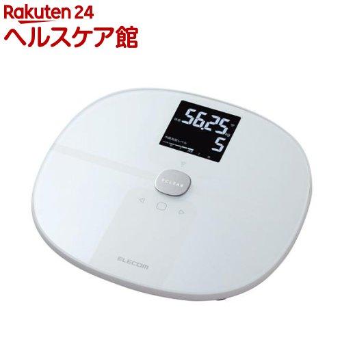 エレコム エクリア 体組成計 Wifi接続対応 ホワイト(1台)【エレコム(ELECOM)】