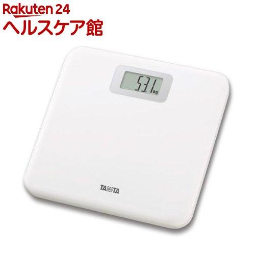 タニタ 毎週更新 TANITA ギフト デジタルヘルスメーター 1台 ホワイト HD-661-WH