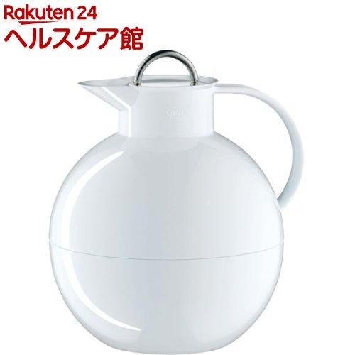 alfi(アルフィ) ステンレス製卓上用ポット Kugel(クーゲル) 1.0L ホワイト AFTA-1001S WH(1コ入)【アルフィ(alfi)】【送料無料】