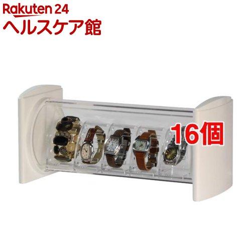 コレクタワー ウォッチスタック ホワイト(16個セット)【コレクタワー】