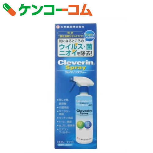 Cleverin 喷 300 毫升 (太鼓制药 cleverin 抗菌防臭)