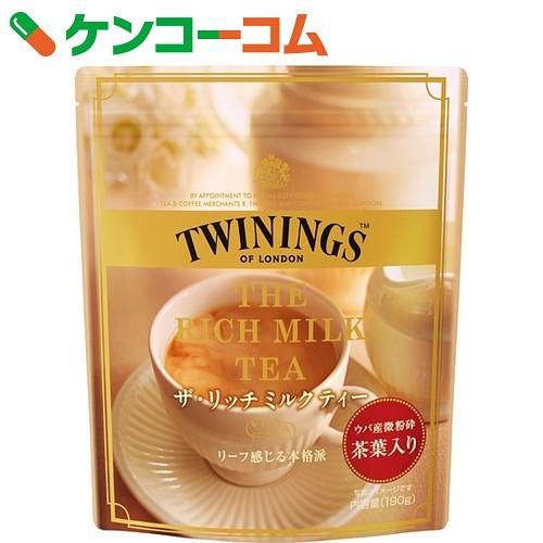 towaininguza·富裕的奶茶190g[towainingumirukuti(清凉饮料)]