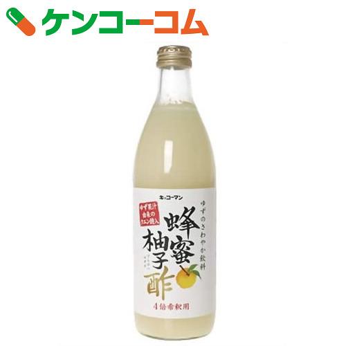 *6部龟甲万蜂蜜柚子醋500ml[柚子(柚子)]