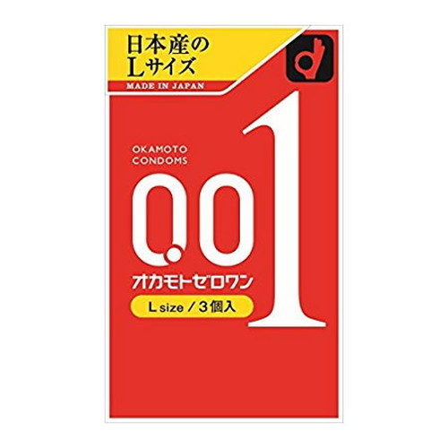 ▼P up to 36 times & coupon festival! [okamoto][ condom] [0.01 millimeters] condom contraceptive until 8/10 1:59 with ▼ Okamoto zero one (001) large size three