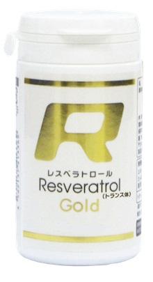 【送料無料/代引き無料】Rレスベラトロールゴールド 60粒[フジテックス][サプリメント](分子生理化学研究所 ワカサプリ)