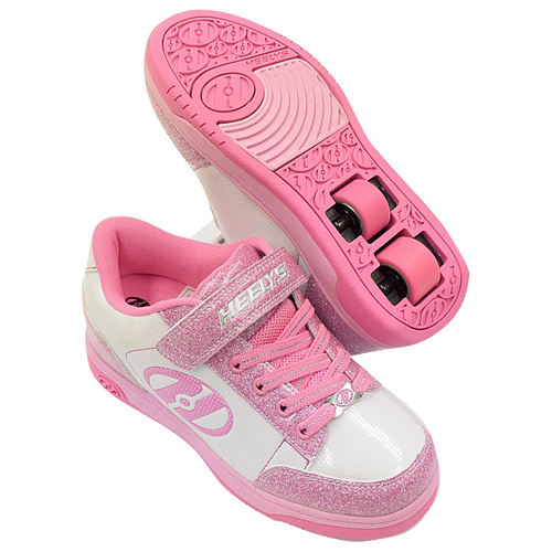 ▼P up to 36 times & coupon festival! It is two ▼ HEELYS HEELYS roller shoes PULSE 3.0 WHITE PINK 778057 child 19cm 20cm 21cm 22cm until 8/10 1:59
