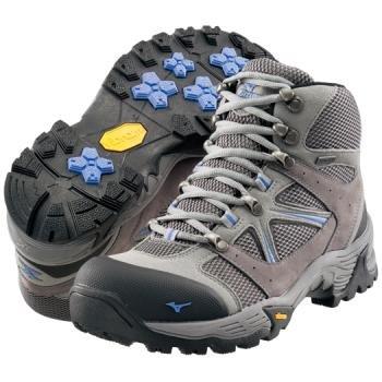 【送料無料】MIZUNO ミズノ ウエーブ ナビゲーション(レディース)MIZUNO WAVE NAVIGATION [06:グレー×ブルー][19KM15106] トレッキングシューズ 運動靴