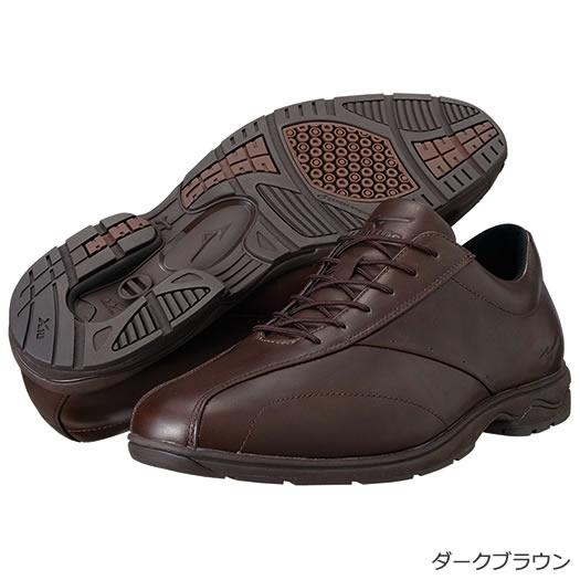 【送料無料】MIZUNO ミズノ LD40 DR(メンズ)ウォーキングシューズ [ダークブラウン][5KF34458] MIZUNO ミズノ メンズ ウォーキング 靴