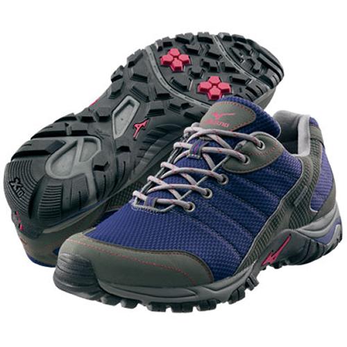 【送料無料】MIZUNO ミズノ ウエーブアドベンチャーGT(WAVE ADVENTURE GT) [ネイビー×グレー][5KF38014](トレッキングシューズ ウォーキングシューズ 男女 メンズ レディース 山歩き 登山靴 運動靴
