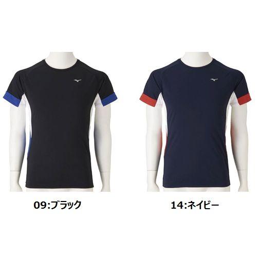 Mizuno rush guard (short sleeves) [N2JC8110] [swimming] [swimming] [pool]  [prevention of sunburn] [men]