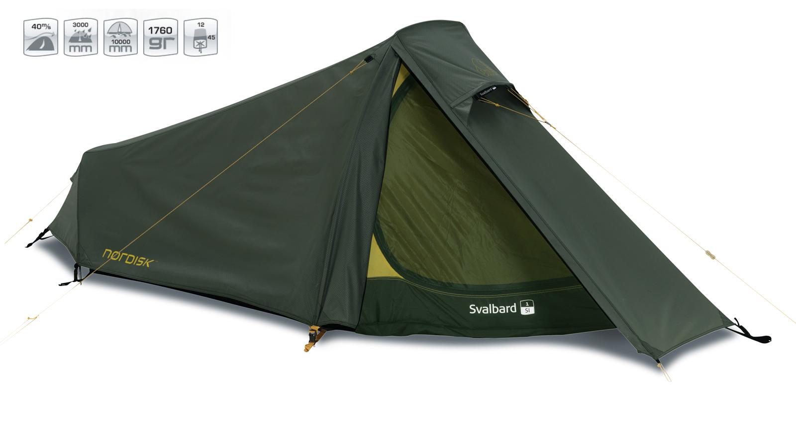 【国内正規品】NORDISK テント Svalbard 1 SI (スゥワルバード 1 SI) フォレスト・グリーン[112027]【送料無料/代引き無料】(ノルディスク テント 1人用 一人用 キャンプ用品 キャンプテント アウトドア特集 簡単【SUMMER_D18】