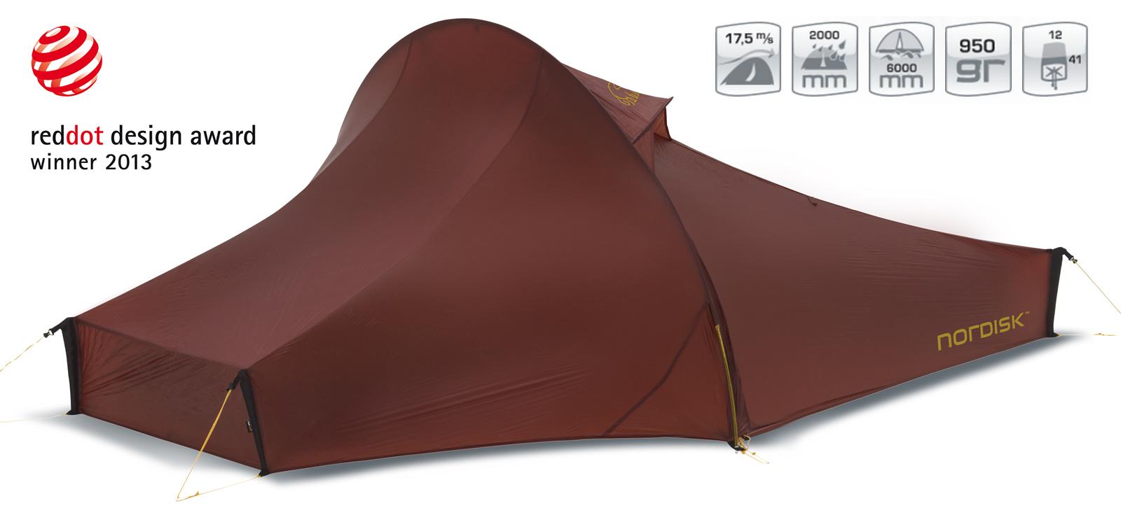 【国内正規品】ノルディスク NORDISK テント Telemark 2 LW (テレマーク2 LW) レッド [151008]ノルディスク 【送料無料/代引き無料】(ノルディスク 2人用 テント ティーレマルク アウトドア用品 キャンプ用品 キャ【SUMMER_D18】