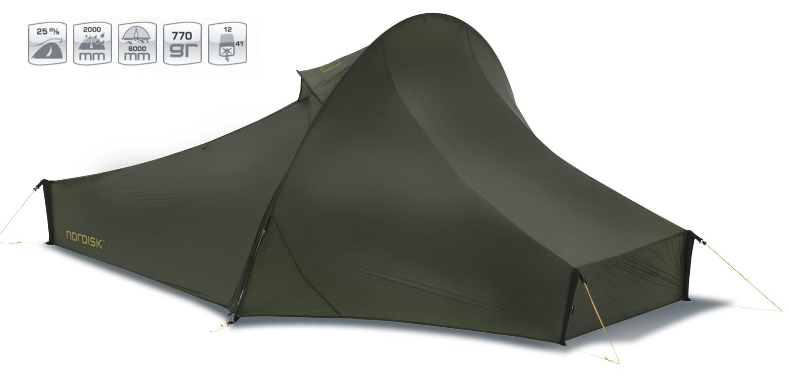 【国内正規品】NORDISK テント Telemark 1 ULW (テレマーク1 ULW)フォレスト・グリーン[151009]【送料無料/代引き無料】(ノルディスク テント 1人用 ティーレマルク キャンプ用品 キャンプテント アウトドア特集 おし【SUMMER_D1