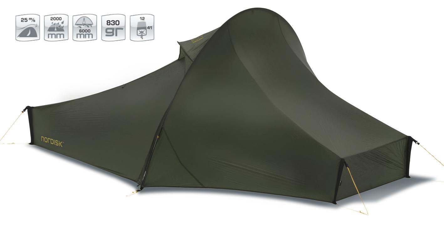 【国内正規品】NORDISK テント Telemark 1 LW (テレマーク1 LW)フォレスト・グリーン[151010]【送料無料/代引き無料】(ノルディスク 1人用 テント ティーレマルク アウトドア用品 キャンプ用品 キャンプテント)【SUMMER_D18】