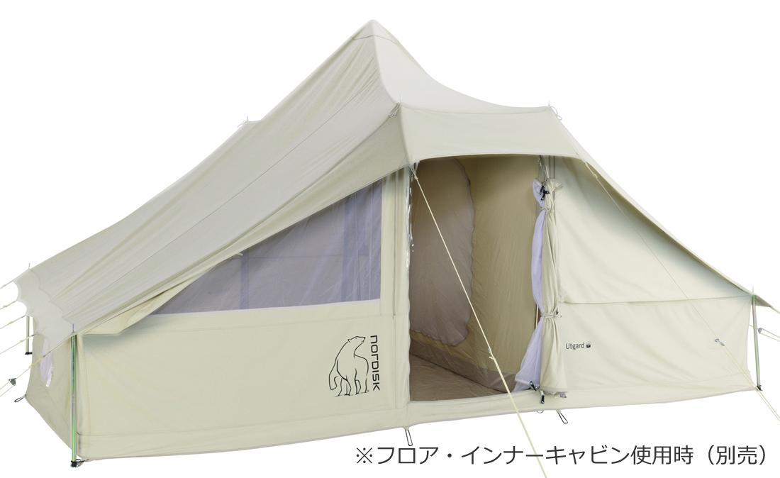 NORDISK コットンテント Utgard 13.2 JP (ウトガルド13.2本体)[142010][242010](アウトドア キャンプ用品 ノルディスク テント tent 6~8人用)【SUMMER_D18】