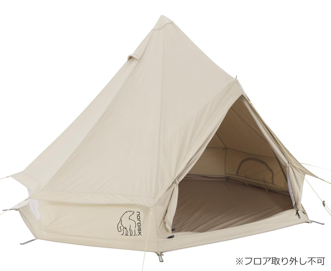 NORDISK Asgard 7.1 JP(アスガルド7.1本体)[2014年モデル]【3人用パオ型コットンテント】[142012][242012](アウトドア キャンプ用品 ノルディスク テント パオ型)【SUMMER_D18】