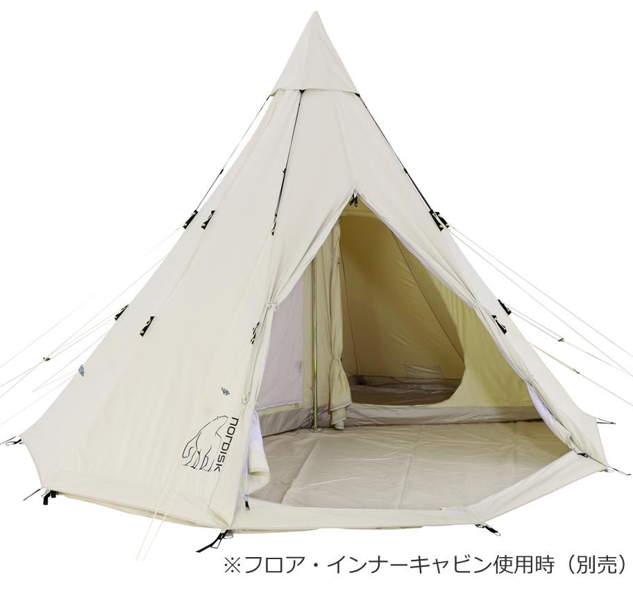 【国内正規品】NORDISK Alfheim 12.6 JP (6人用ワンポールテント)[142013][242013](グランピング ノルディスク テント 6人用 tipi アルヘイム アルフェイム キャンプ用品 テント)【SUMMER_D18】
