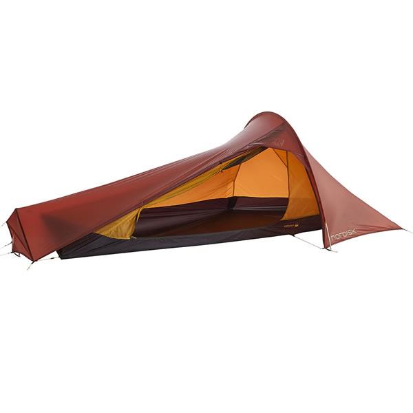 ★クーポン配布中★【国内正規品】ノルディスク NORDISK テント Lofoten 1 ULW (ロフォテン1 ULW) レッド [151018](アウトドア キャンプ用品)【SUMMER_D18】