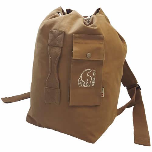 【国内正規品】NORDISK ノルディスク Kongsberg Classic Duffle クラシックダッフル40 ミニダッフル 40L Cooky Brown クッキーブラウン[143006](ボストン バッグ 鞄 アウトドア キャンプ キャンプ用品 リュック 収納バッグ