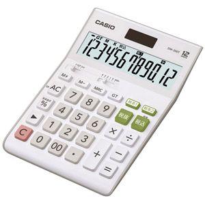 ▼P最大36倍&优惠券节!到8/10 1:59▼CASIO(卡西欧)计算器(12位数)DW-200T-N标准计算器桌子型怀特
